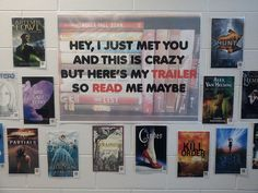 Pretty awesome. QR codes and book trailers.