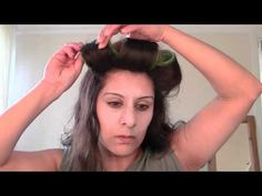 Achieve Body using Velcro Rollers and no heat rollers, achiev bodi, heat velcro, hair style, big hair, velcro roller, achiev big