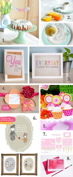 Fun Mother's Day Printables // #free