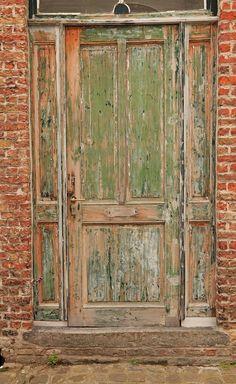 shoe factory door (maybe?) Brugge, Belgium