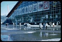 The Blyth Ice Arena at the 1960 Winter Games