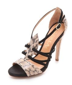 beauti shoe, strap heel, pump, heels, snake strap, aperlai snake, ador accessori, snakes, fantast shoe