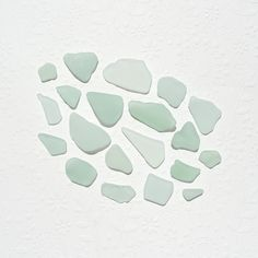 Seafoam Green Sea Glass Genuine Frosted Surf Tumbled for by JanJat