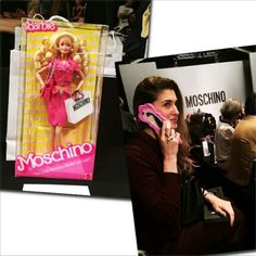 Moschino Barbie ... details at dutchbarbieworld.wordpress.com