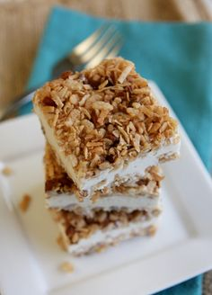 Ice Cream Crunch Bars
