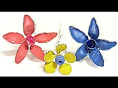 DIY: Mini flores de alambre. Small wire flowers. - YouTube