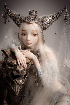 Beauty and the Beast - Enchanted Doll by Marina Bychkova
