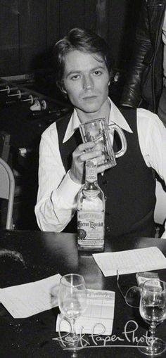 Robert Palmer, 10-18-1976