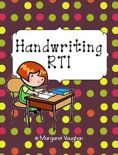 Handwriting RTI classroom, intervent, school, dnealian, write, handwrit rti, educ, handwriting, cursive
