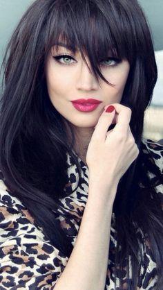 Glamorous - Black hair