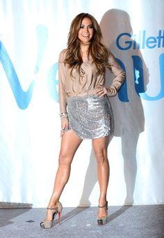 Jennifer Lopez for Gillette
