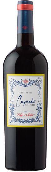 cupcake vineyards red velvet wine. this was lovely