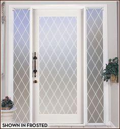 window film, glass doors, privaci film, glass privaci, color
