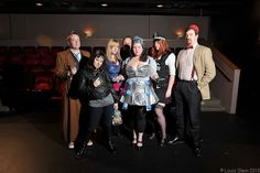 Doctor Who-lloween  Doctor 10, Gwen Cooper, Rose Tyler, The Master, Dalek, Amy Pond, Doctor 11  #halloween #cosplay #doctorwho