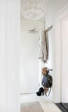 bedroom decor, home interiors, hallways, hooks, entryways, white, inspir, back porches, entryway organization