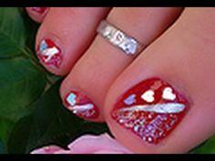 Toe Feet Nail Art / pieds tuto