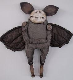 bat art doll