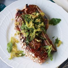 Grilled Lamb Shoulder Chops with Manischewitz Glaze | 29 Miraculous Foods To Make For Hanukkah