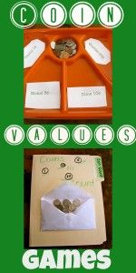 coin values games you can make at home