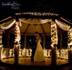 lights, first dance, romantic dinners, dance floors, dream