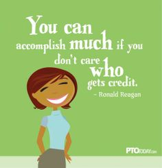 """PTOs and PTAs know this: """"You can accomplish much..."""""""