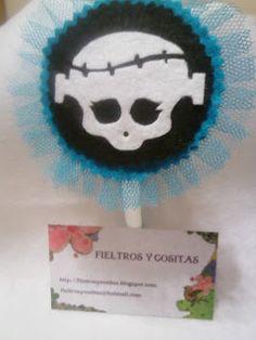 Fieltros y Cositas: Monster High