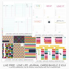free miss tiina printable journal cards
