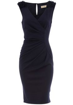 http://www.unitedhabit.com/5oc3fkut-navy_ruffle_shoulder_dress_dorothy_perkins