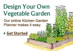 You can drag and drop veggies into your planting plan, good for square foot gardening and can be converted to traditional row gardening as well.  Also has a feature for planting times and spacing.