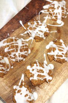 Pumpkin Oatmeal Breakfast Cookies (gluten free)