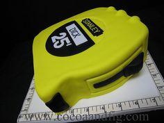 Tape Measure Cake