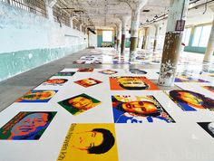 Ai Weiwei Uses 1.2 Million LEGO Bricks to Create Intricate Portraits of Prisoners of Conscience - My Modern Met