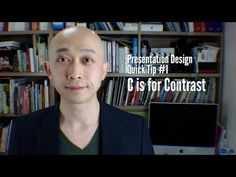 Presentation Quick Tip #1  C is for Contrast