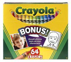 Crayola 64 Ct Crayons $6.97