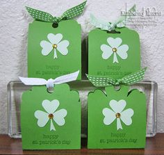 St. Patrick's Day Chocolate Mint Holder: click through for text instructions...stay tuned for a video tutorial!
