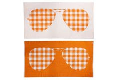 Sunglasses, Tangerine / Stephen Moss #summer #beach