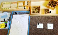 Montessori Math: Four Operations (Addition) with Free Printable