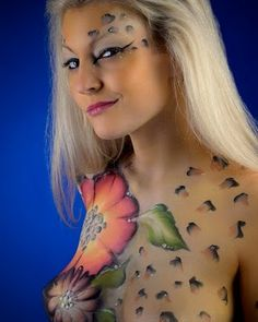 body painting pics