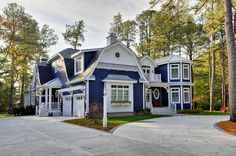 Naval SW6244 by Sherwin-Williams custom homes, color schemes, exterior houses, garage doors, blue houses, paint colors, pergola, dream houses, blues