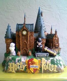 Hogwarts cake <3