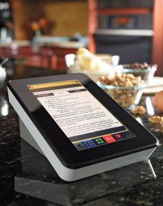 This recipe reader would make cooking dinner so much easier