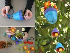 Fun wind chimes for the kids to make