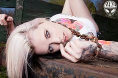 Model: Amanda Pocalypse Lenz Photography Badcock Apparel Tattoo Artist: Miss Autumne; Integrity Tattoo, Maryville, TN