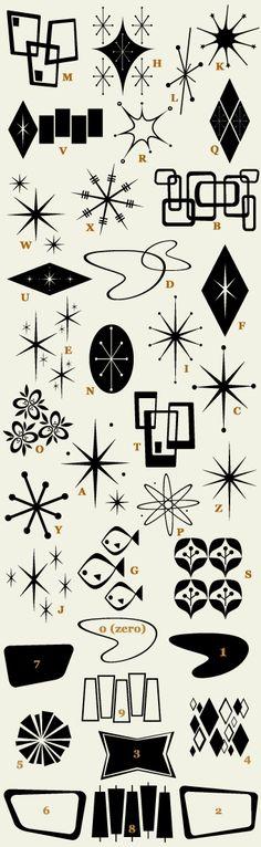 Letterhead Fonts / LHF Bomber / Retro Fonts retro fonts, 50s font, 50's fonts, retro graphic design, retro design, 50s design, letterhead graphic design, 50s ornament, retro graphics