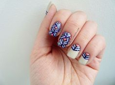 Nails to DIY For: 20 Nail Art Tutorials for Summer via Brit + Co.