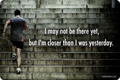 Gotta keep going!
