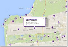 Interactive map shows (some) films that were shot in the Richmond District   Richmond SF Blog
