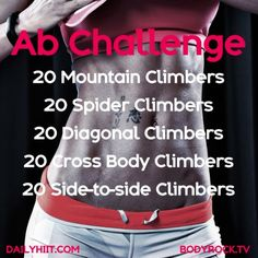 5 Move Ab Challenge