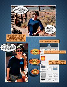 Create Tips of the Week or tutorials using Comic Life {I love Comic Life!}