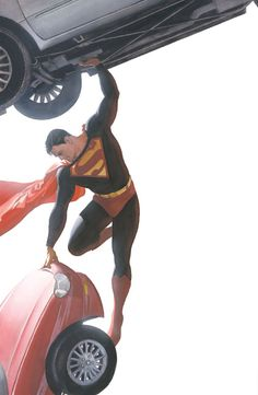 superman, strength, comic books, comic art, man of steel, alex ross, comics, superhero, alex o'loughlin
